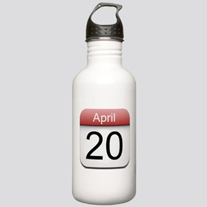 4:20 Date Stainless Water Bottle 1.0L