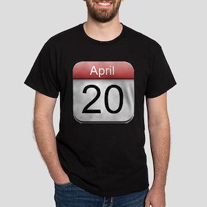 4:20 Date Dark T-Shirt