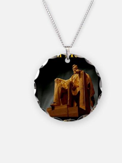 Lincoln Memorial Necklace