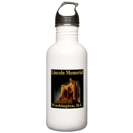 Lincoln Memorial Stainless Water Bottle 1.0L