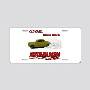 OLD CARS...GOOD TIMES! T-Shir Aluminum License Pla