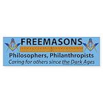 What Masons Do Sticker (Bumper)