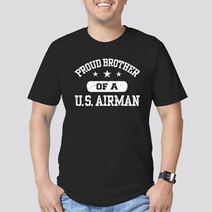 Proud Brother of a US Airman Men's Fitted T-Shirt