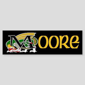 Moore Celtic Dragon Bumper Sticker