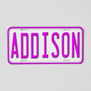 Addison LP Aluminum License Plate