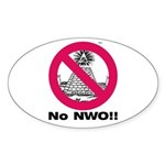 No New World Order sticker
