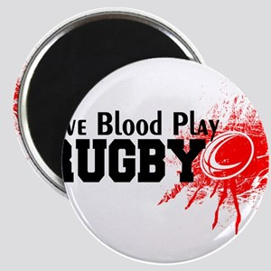 Give Blood Play Rugby Magnets