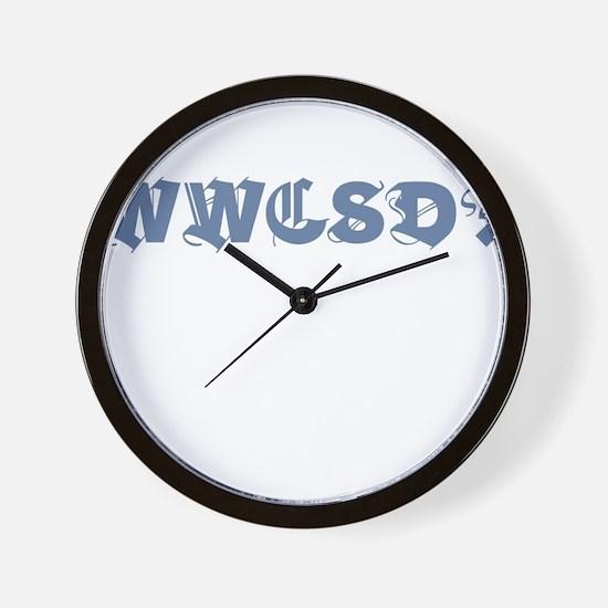 WWCSD Wall Clock