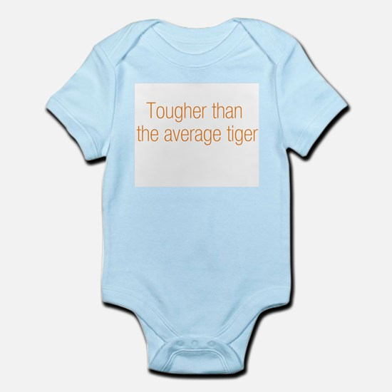 Average Tiger Infant Bodysuit