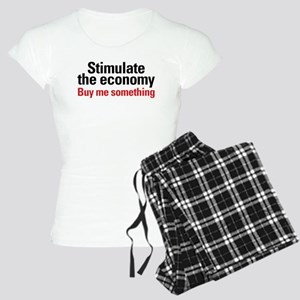 Stimulate The Economy Women's Light Pajamas