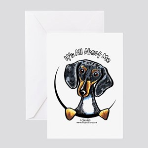 Dapple dachshund greeting cards cafepress dapple dachshund iaam greeting card m4hsunfo