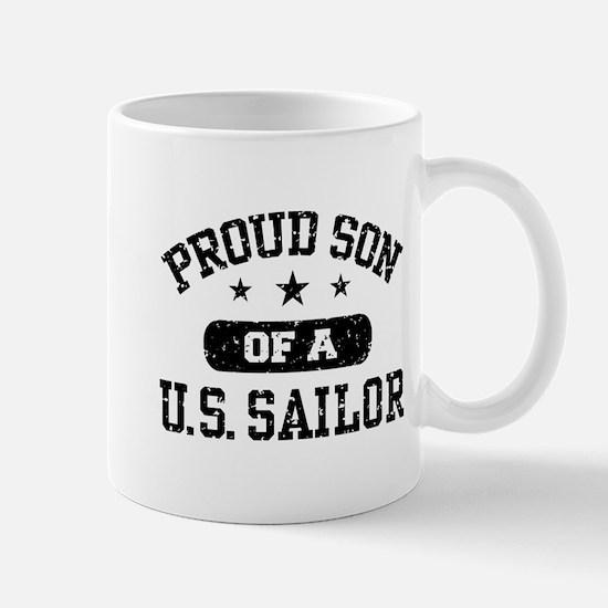 Proud Son of a US Sailor Mug