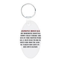 Hormone Hostage Keychains