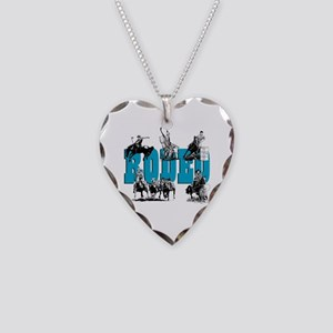 Rodeo Necklace Heart Charm