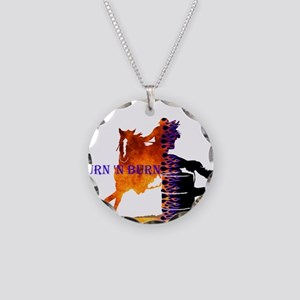 TNB Paint/Pinto Necklace Circle Charm