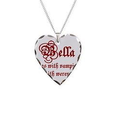 Bella runs Necklace