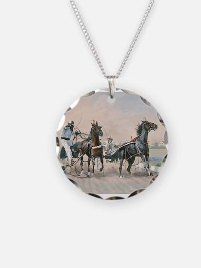 Unique Standardbred horse Necklace