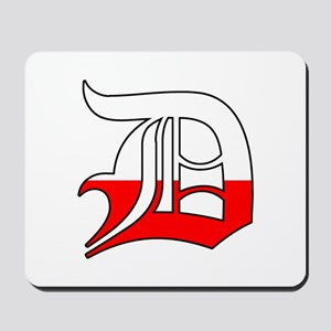 Detroit Polish D Mousepad