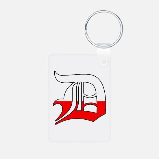 Detroit Polish D Keychains