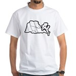 Jtree and Intersection Rock White T-Shirt