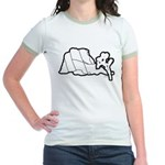 Jtree and Intersection Rock Jr. Ringer T-Shirt