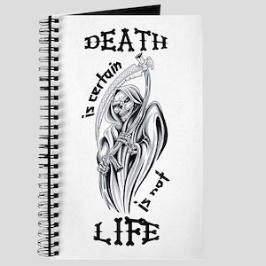 Fantasy Tattoo Tattoos Grim Reaper Notebooks Cafepress