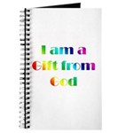 I Am a Gift from God Journal