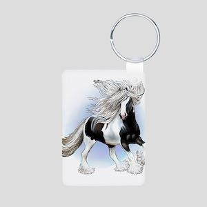 Cassanova Aluminum Photo Keychain