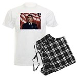 Reagan on Liberal Friends Men's Light Pajamas