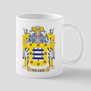 Valdez Family Crest - Coat of Arms Mugs