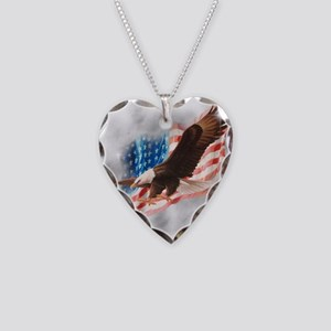 Faded Glory Necklace Heart Charm