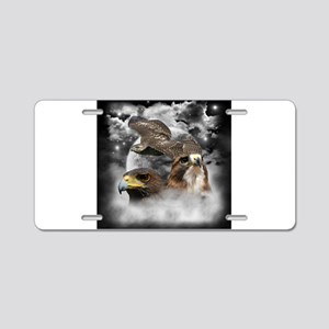Flying High Aluminum License Plate