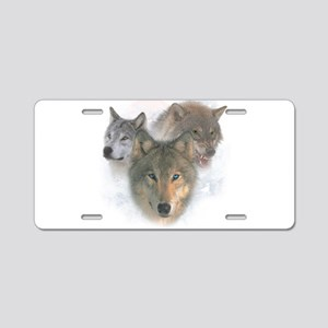 Watchful Eyes Aluminum License Plate