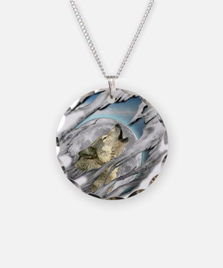 Torn Wolf Necklace