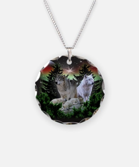 Northern Wolves Necklace