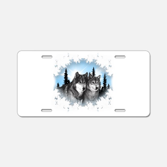 Cute Wild animal Aluminum License Plate