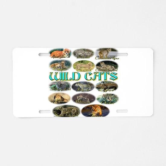 Wildcats Aluminum License Plate