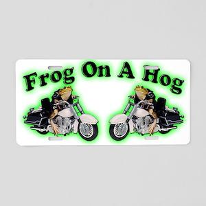 Frog Hog 2 Aluminum License Plate