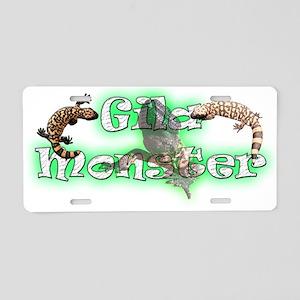 Gila Monster Aluminum License Plate