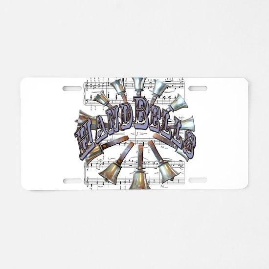 Handbells Aluminum License Plate