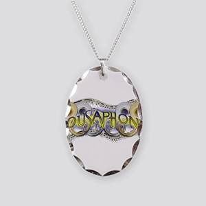 Sousaphone Necklace Oval Charm