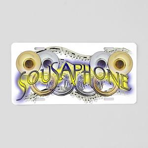 Sousaphone Aluminum License Plate