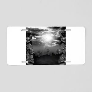Dark Gates Aluminum License Plate