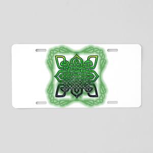 Celtic Design Aluminum License Plate