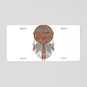 Dream Catcher 5 Aluminum License Plate
