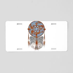 Dream Catcher 4 Aluminum License Plate