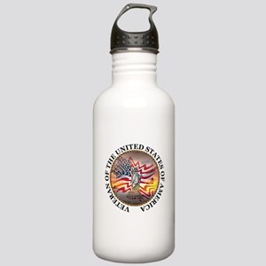 Veteran Of The United States Stainless Water Bottl