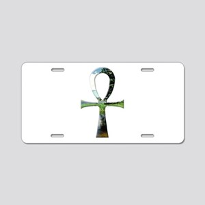 Ankh Aluminum License Plate