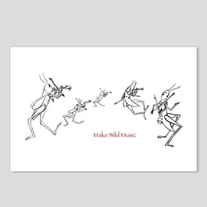 Grasshopper Fiddlers Postcards (Package of 8)