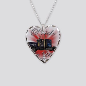 Pride In Ride 1 Necklace Heart Charm